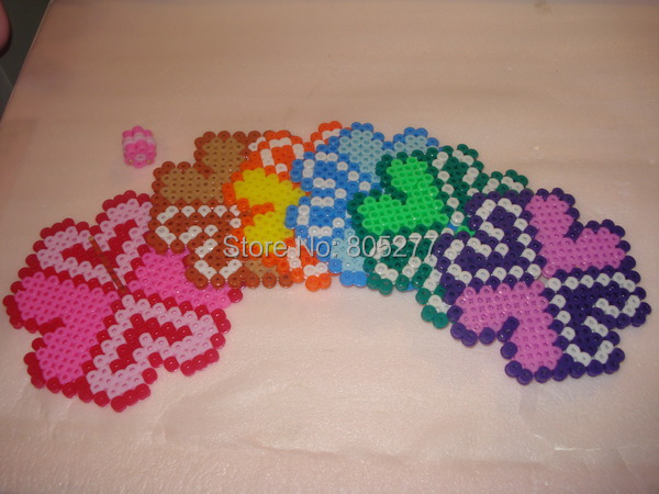 whole hama beads perler beads fuse beads 5mm set of 2 template products include 5500 peas a 24 boxes 1 big template 1 small template four iron paper two tweezers a box of 24 grid color 24 colors size 5mm