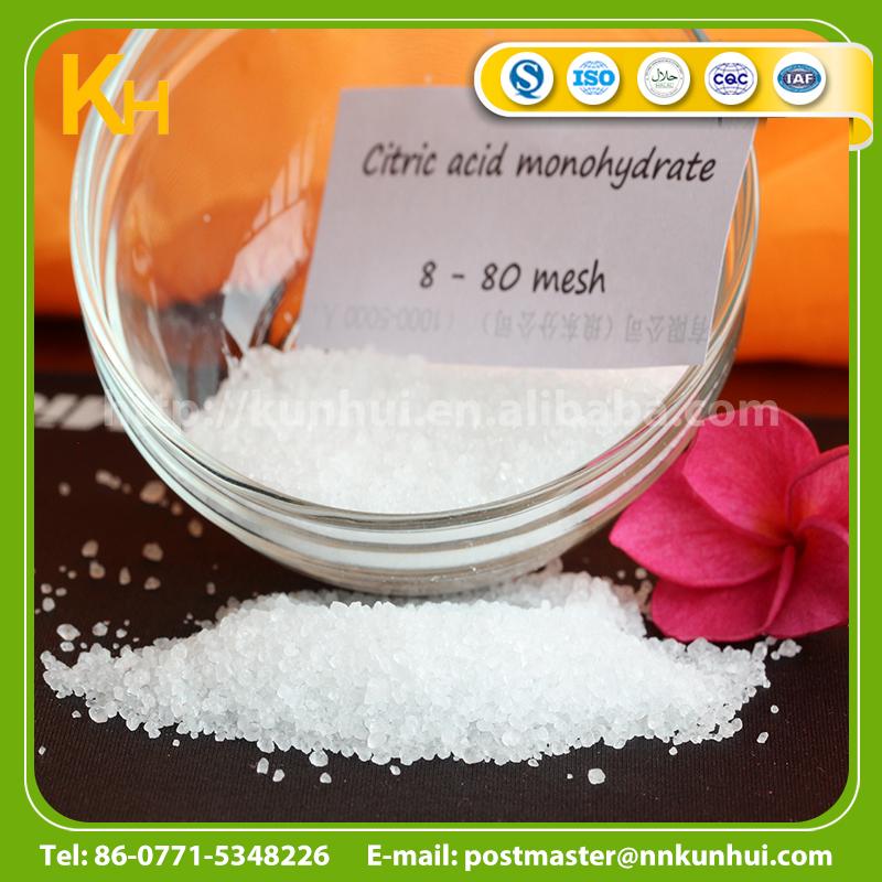 Bulk Food Grade Anhydrous Citric Acid Monohydrate ...