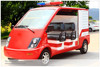 4 Seater fire fighting truck with pump system