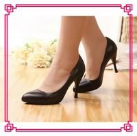 Elegant ladies high heel dress shoes womens mature sexy high heel pumps shoes classic ladies cheap shoes 2014