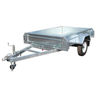 High quality hot dipped galvanzied fully weld trailers
