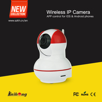 H.264 p2p wifi ip camera for baby monitoring with app control