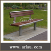 FW38 Mainstream Outdoor Bench Series Non Folding Wooden Bench Chairs