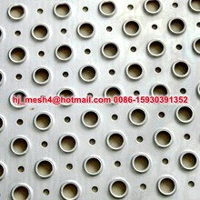perforated metal walkway panels
