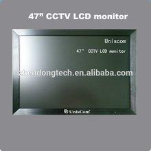 47 pulgadas montado en la pared sdi cctv monitor con entrada bnc