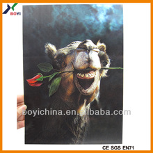 2014 Multifunctional 3D Embossed Poster, Topsale 3D Picture Of Advertisement Factory & Manufacturer