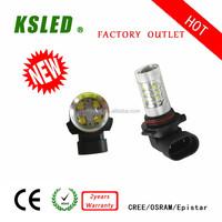 All cars Samsungchip led car light 9005 30w led rear fog light H4 H6 H7 H8 H9 H10 H11 H15 H16 9-30V IP67 CE and ROHS