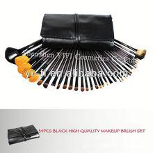Wholesaler! Pro 34 pcs full makeup brushes set japan cosmetic brushes
