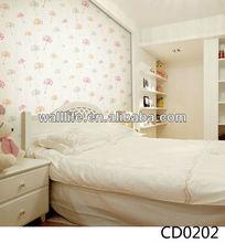 CD0202/ Wallife 2015 new design colorful pvc vinyl wallpaper for bedroom