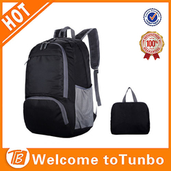 Alibaba china foldable backpack waterproof bag nylon bag school