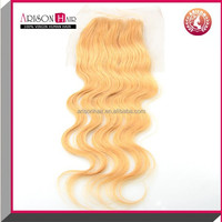Arison Hair 2015 best selling factory price 100% human peruvian hair lace closures