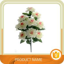 1 Bouquet Artificial Silk Flower Leaf Home Party Wedding Garden Decor