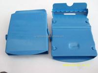 Colored zinc alloy metal belt buckle for coat belt