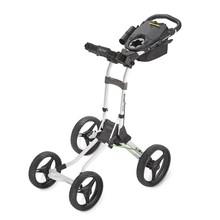 2014 Bagboy Quad Plus 4 Wheel Golf Push Cart - White