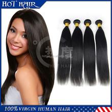 Original unprocessed raw malaysian straight hair weave, wholesale virgin malaysian hair