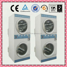 double stack washer and dryer combo industrial washing machine