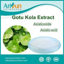 Factory Supply Gotu Kola Extract , Madecassoside , Asiaticoside
