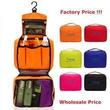 2015 Korean Waterproof Travel Wash Bag Oxford Cloth Comestic Folding Hang Bags Large Toiletry Bag for Women