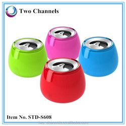 2015 High Quality Stereo Bluetooth Handsfree Speaker with RoHs CE (w)STD-S608