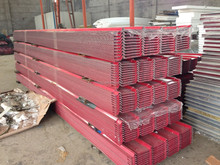Red color currageted roofing sheet