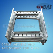 Quality HDG type Stainless steel wire mesh cable tray and accessories For ships and buildings Professional factory