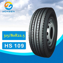 315/80R22.5 all steel radial truck solid tyre