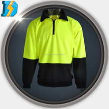 hi vis reflective waterproof cold weather trousers with Zipper closed front neckband