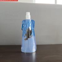 Customized logo folding sports water bottle/water bag/foldable bag for travel