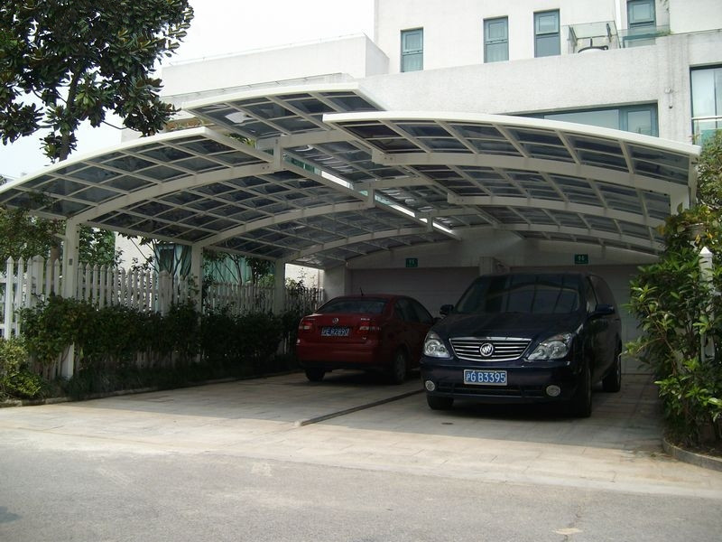 Portable garage polycarbonate roof and steel carport buy for Garage class auto