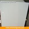 Newstar pure white engineered stone polishing quartz slab