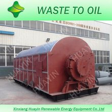 continues waste plastic to diesel machinery, plastics scrap pyrolysis diesel equipment with zero explosion rate