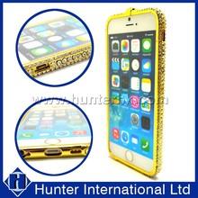 Luxury Full Diamond Bumper Frame Case For iPhone6