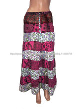 falda larga para dama