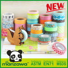Manzawa washi Japanese masking tape,custom printed masking tape