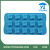 promotional disposable silicone 3d chocolate mould