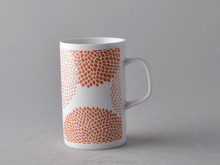 promotional gift ,porcelian,14oz orange tall round high quality porcelain coffee cup,tea cup fine porcelain,mug porcelain