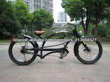 24 pulgadas negro especializados para adultos estilo chopper moto