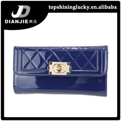 stock Hot sale PU phone bag wallets evening bag with chain for ladies