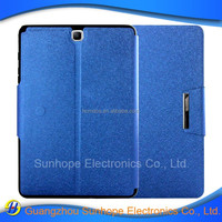 tpu pu leather case flip cover for Galaxy TAB A 9.7 inch tablet caseT555