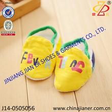 Nueva llegada de calidad superior 100% de algodón suave zapatos de bebé