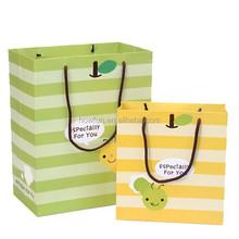 Lovely Fly Worm Stripe Birthday Gift Bag Shopping Bag