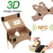 Virtual Reality Google cardboard 3D glass for 4.7~5.7 inch ios and Android mobile phone