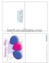 Tarjeta de cumpleaños para niños/de los niños de la tarjeta de cumpleaños