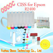 Top quality Continuous Ink Supply System CISS for Epson R2400 desktop printer