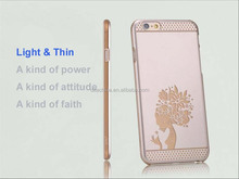 PC Cartoon protective case Ultra Thin Mobile Phone cover for iPhone 6 plus 5.5 laser engraving original cover