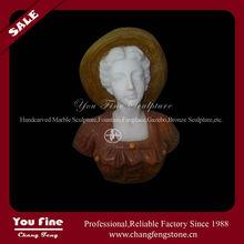 Vente directe d'usine marbre sculpté buste