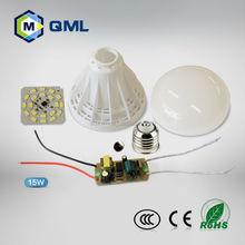 led bulb skd 5w LED plastic bulb lights&lighting housing