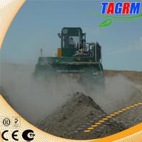 Cow manure compost shredder machine for farm fertilizer M3600