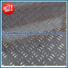 five bar pattern aluminum checker plate price