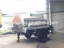 Camiones distribuidores de asfalto en promoción
